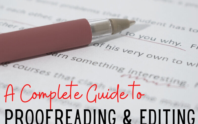 5 Helpful Editing Ideas for Students
